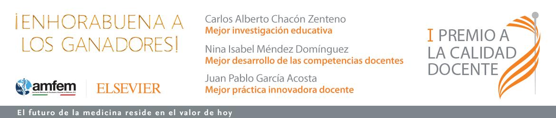 Ganadores premio Elsevier