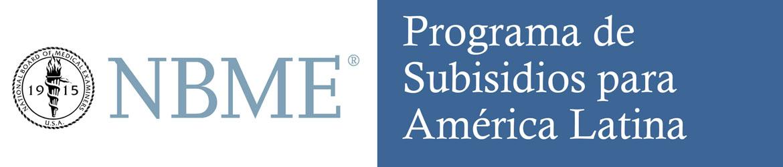 Programa de subsidios para America Latina - NBME